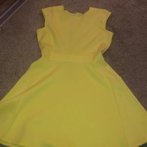 Yellow Dress. Used. Designed by Baker